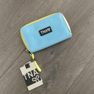 TNA Wallet 💕2/$30 💕| Blue & Yellow